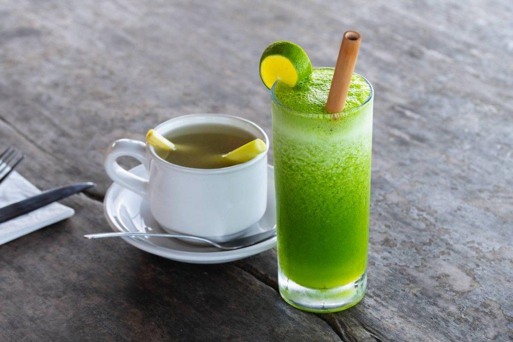ツボクサイメージ茶・スムージー